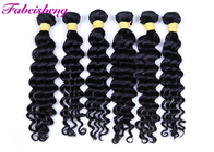 Natural Black 100% Brazilian Virgin Human Hair Extensions Loose Wave